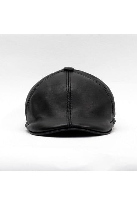 News Boy Leather Hats